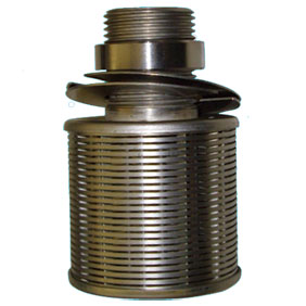 Wege wire screen nozzle