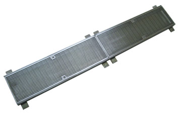 Drainage wedge wire plate